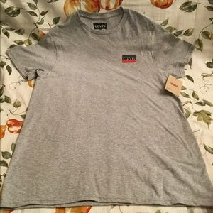 Levi's Small Heathered Grey T-shirt